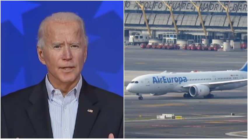 Vocera de la futura Administración Biden asegura que no se levantaran las restricciones de viaje a Europa a pesar de reportes de que Trump lo haría