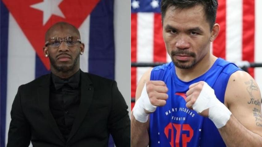 Boxeador cubano Yordenis Ugás se convierte en Súper Campeón welter de la Asociación Mundial de Boxeo después de que Manny Pacquiao lo perdiera