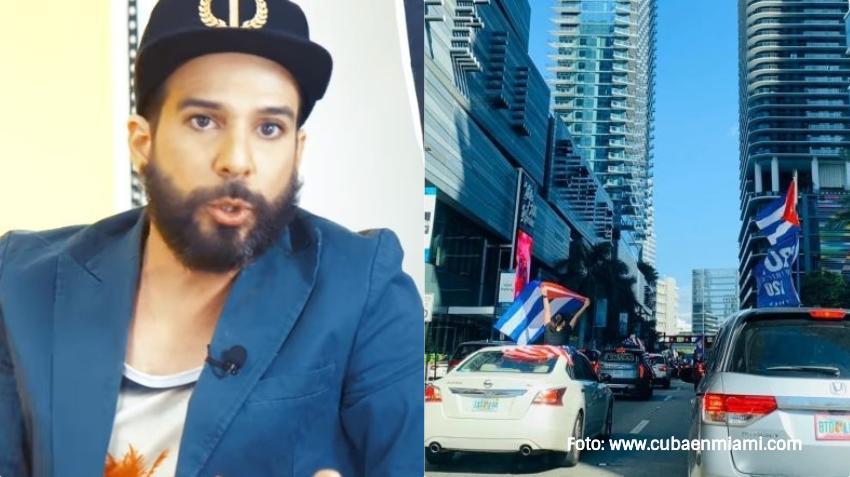 Presentador cubano Alexander Otaola convoca a caravana en Miami para pedir a la Administración Biden no establecer relaciones con la dictadura en Cuba