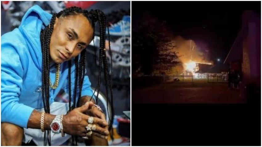 Se incendia parte de la casa de cantante puertorriqueño en Miami a causa de fuegos artificiales
