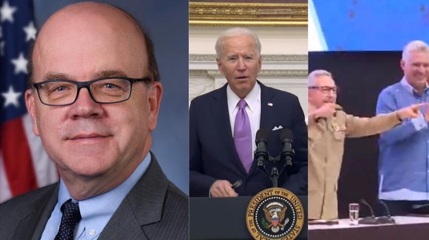 Congresista demócrata escribe una carta a Biden para pedirle reanude el acercamiento con La Habana