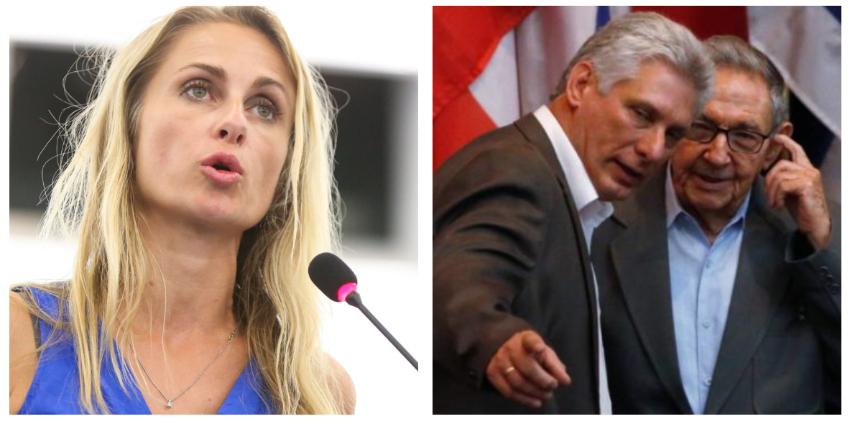 Vicepresidenta del Parlamento Europeo dijo que la UE debería proceder a suspender Acuerdo con Cuba, por violaciones a los DDHH