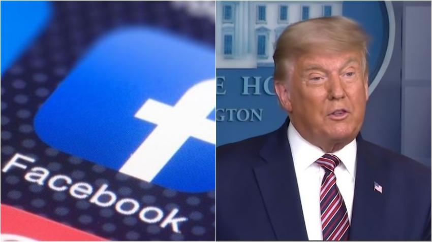 Facebook suspende la cuenta de Donald Trump al menos por el resto de su presidencia