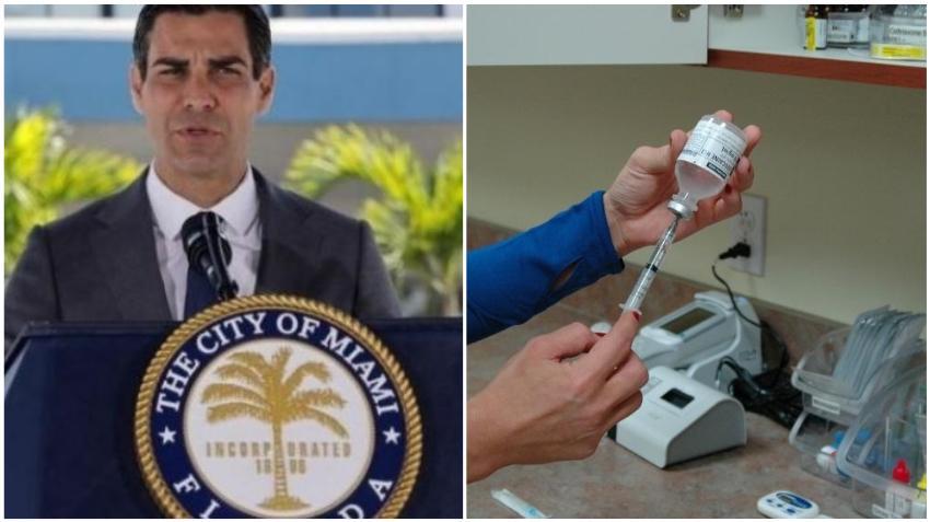 """Alcalde de Miami Francis Suárez reacciona a que turistas se están poniendo la vacuna en Florida: """"Me parece indignante que nuestros abuelos tengan que esperar"""""""