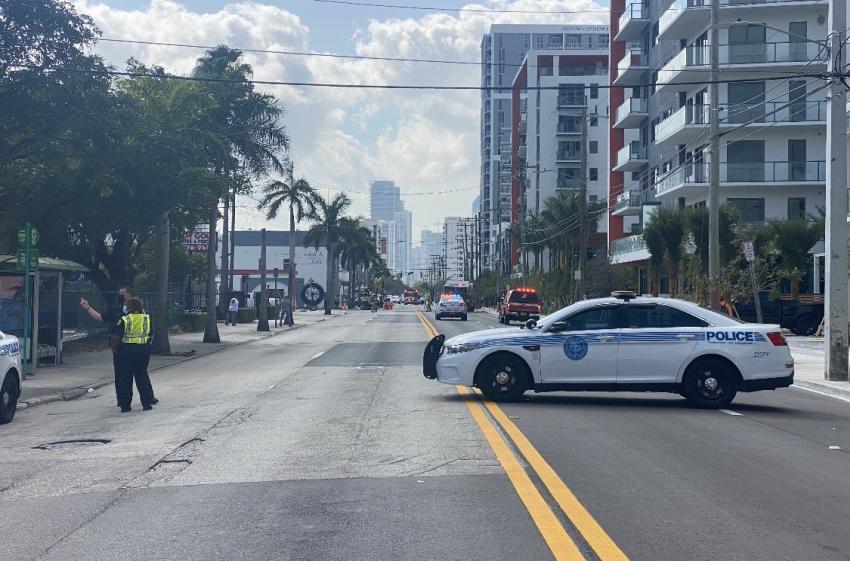 Policía de Miami alerta de evitar area del nordeste por un escape de gas