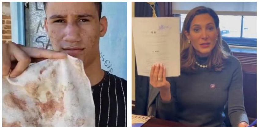 """María Elvira Salazar denuncia """"salvaje golpiza"""" al hijo de José Daniel Ferrer a manos de la policía castrista"""