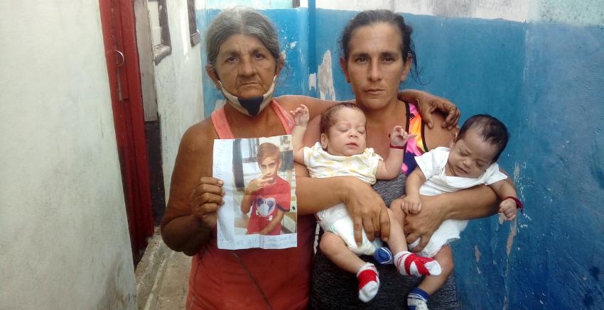 Un niño desapareció en La Habana hace 45 días, su madre y abuela están desesperadas y piden ayuda