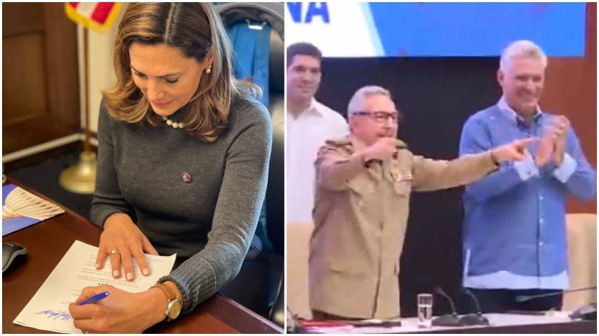 Congresista cubanoamericana María Elvira Salazar presenta proyecto de ley para hacer difícil que Biden retire a Cuba de la lista de países patrocinadores del terrorismo