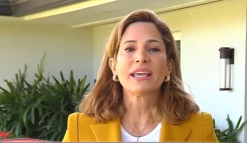 Congresista cubanoamericana María Elvira Salazar crítica a los cabilderos políticos que presionan para un acercamiento con Cuba