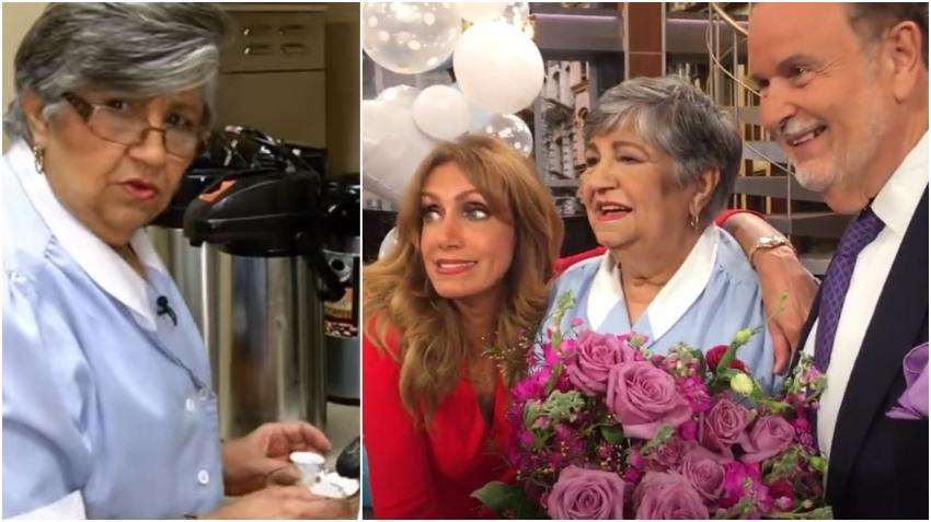 Raúl de Molina anuncia que Martica 'La del Café', de su programa el Gordo y la Flaca, está ingresada en Miami con coronavirus