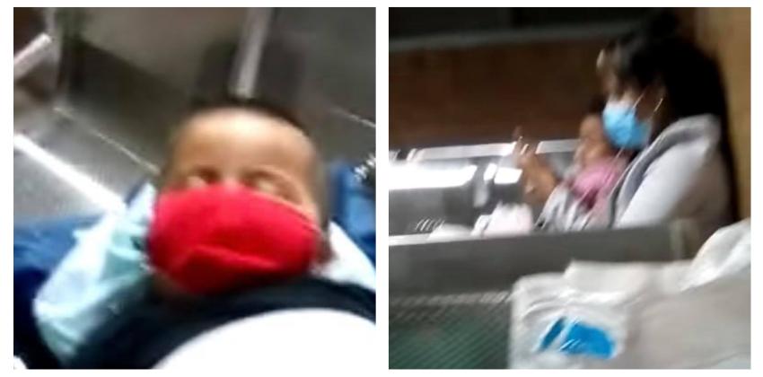 Así la atención médica en un hospital pediátrico de La Habana: Niños durmiendo en duros asientos de metal en la madrugada