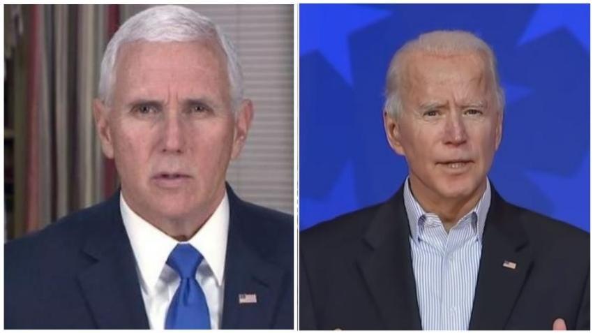 Vicepresidente Mike Pence anuncia que asistirá a la inauguración presidencial de Biden
