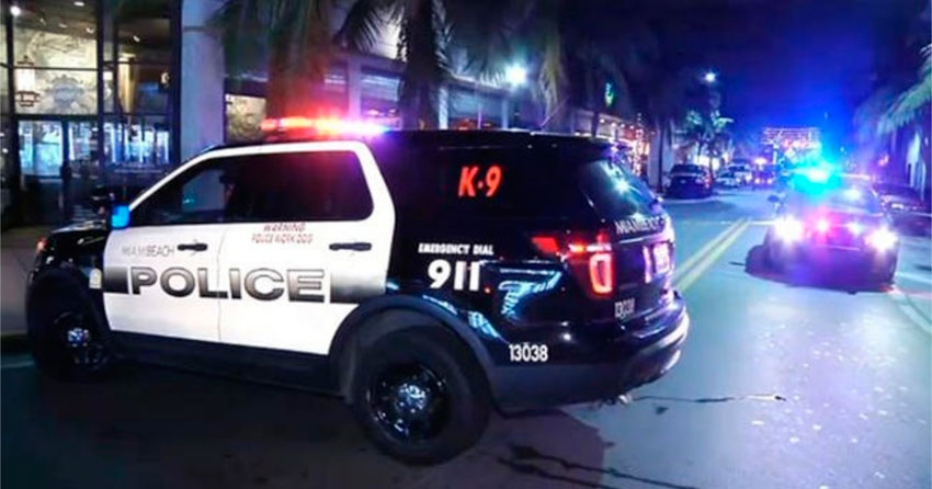 Policía de Miami Beach realiza más de 100 arrestos durante el fin de semana ante la ola de delincuencia