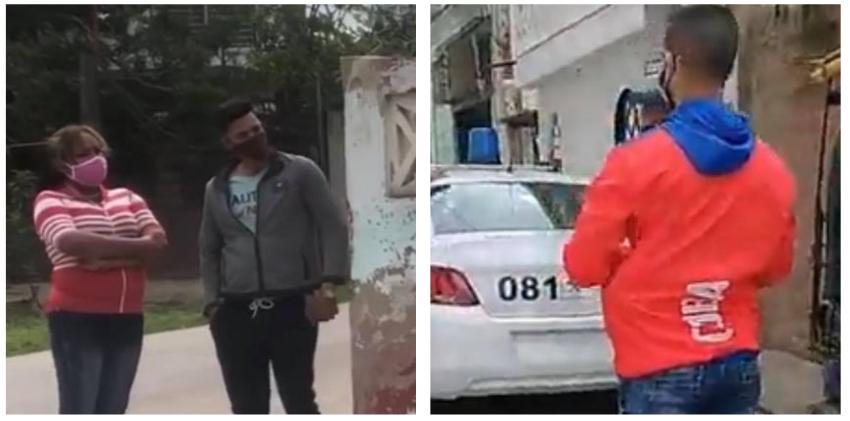 Segurosos vestidos de civil y policías afuera de las viviendas de los opositores en La Habana para impedirles salir