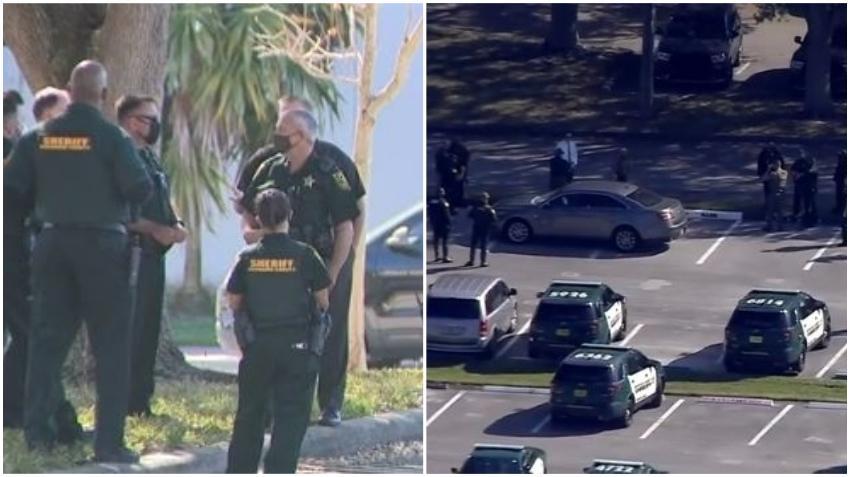"""Una llamada """"de broma"""" causa pánico en escuela de Parkland, Florida, donde ocurrió la masacre escolar que cobró la vida de 17 personas"""