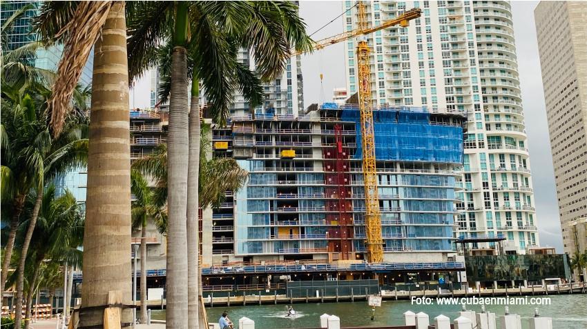Más de 20 rascacielos estarán en construcción en Miami durante el 2021