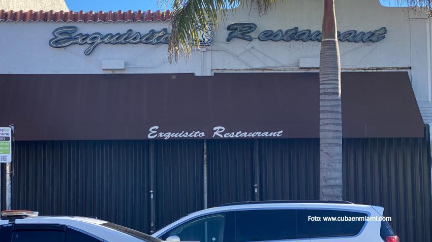 Conocido restaurante cubano de la Calle 8 lleva semanas cerrado y muchos temen de que el cierre sea permanente