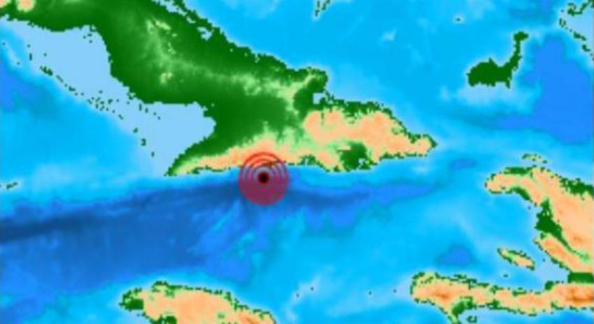 Reportado en la madrugada sismo de magnitud 3.4 en Guamá, Santiago de Cuba