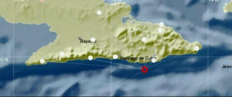 Sismo perceptible reportado en las provincias de Guantánamo y Santiago de Cuba