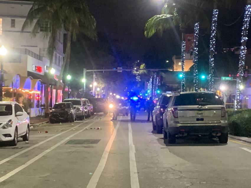 Tiroteo en Miami Beach obliga a cerrar la avenida Washington