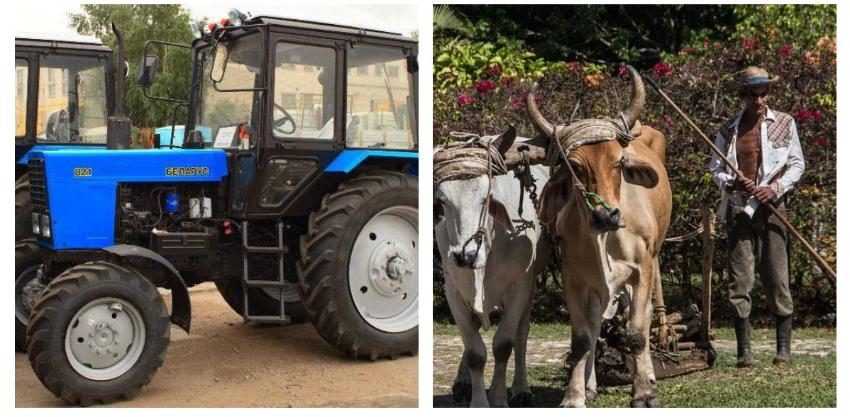 Venderán tractores a los campesinos en Cuba, solo en moneda libremente convertible (MLC)