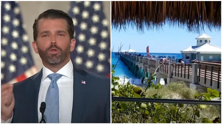 Donald Trump Jr. también está buscando casa para mudarse a Florida
