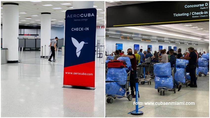Compañía de vuelos Charters AeroCuba está ofreciendo vuelos de rescate por 500 dólares para los cubanos varados en la Isla