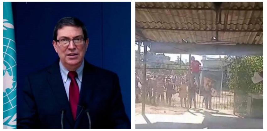 """Bruno Rodríguez tuvo la desfachatez de defender ante la ONU que el régimen """"promueve el respeto a los derechos humanos para todos"""""""