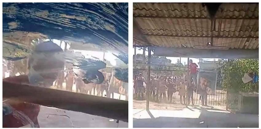 """Violento acto de repudio contra una opositora y sus hijos, ante su vivienda en Arroyo Naranjo: """"Llenan de petróleo las ventanas y matan al perro de los niños"""""""