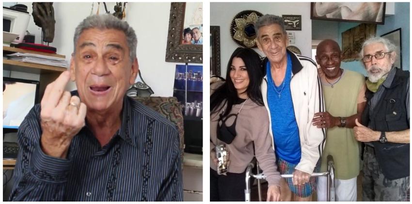 Actor y humorista cubano Jorge Losada pide ayuda para conseguir medicamento para superar la anemia