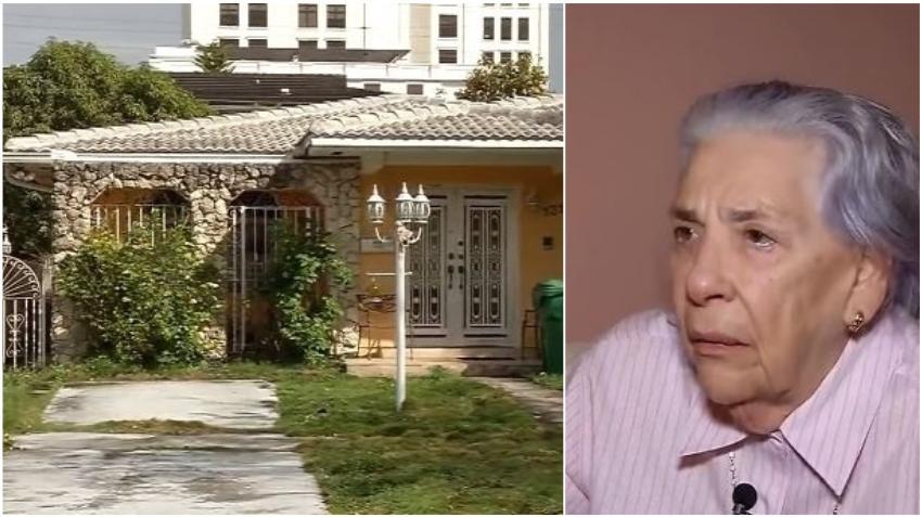 Anciana cubana, ex presa política del régimen castrista, está a punto de perder su casa y quedarse en la calle