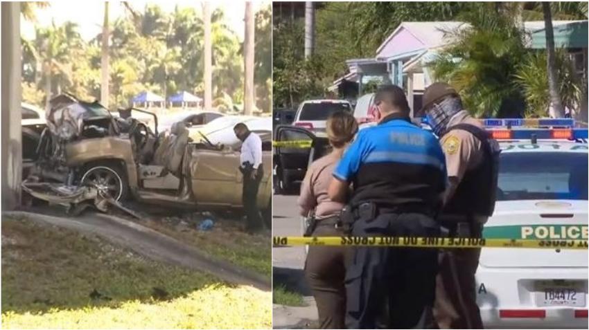 Hombre mata a puñaladas al novio de su expareja, la hiere a ella, y muere huyendo de la escena del crimen