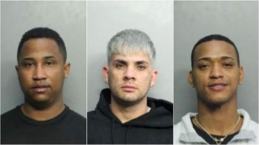 """Tres hombres de Miami son identificados como posibles """"ladrones en serie"""" en el condado de Broward"""