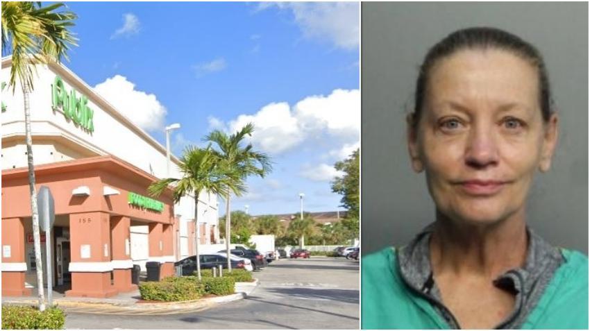Doctora de Miami arrestada por insultos a un hispano en un Publix de Hialeah