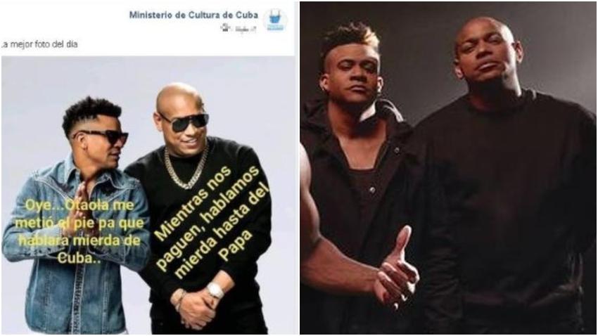 """Ministerio de Cultura en Cuba ataca a Gente de Zona por la canción """"Patria y Vida"""""""