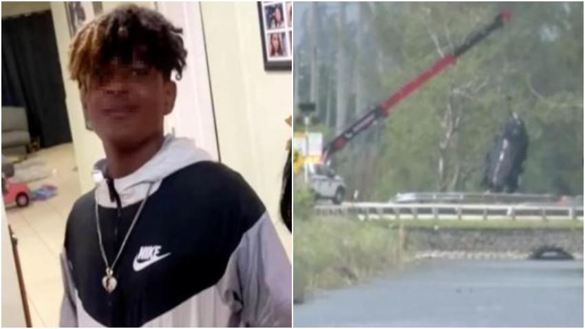 Un adolescente de origen cubano entre los fallecidos en auto que terminó en un canal de Miami Dade