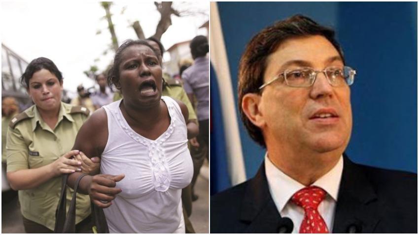Activistas cubanos desmienten a Bruno Rodríguez Parrilla, quien aseguró en la Isla se erradicó la discriminación racial
