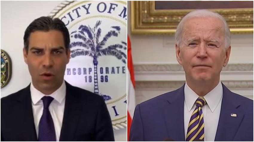 Alcalde de Miami Francis Suárez se reunirá con Biden para discutir programa de asistencia para la ciudad