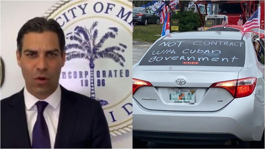 Alcalde de Miami Francis Suárez apoya mantener las restricciones a Cuba