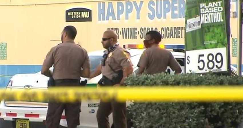 Mujer le dispara a un hombre que intentaba robarle en una gasolinera en Miami