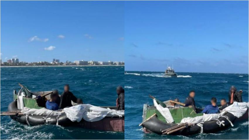 Guardia Costera de Estados Unidos intercepta grupo de 5 balseros cubanos a punto de llegar a las costas de la Florida