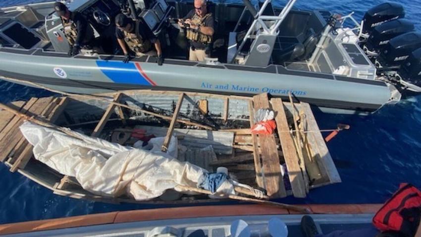 Guardia Costera de Estados Unidos intercepta a 8 balseros cubanos cerca de los Cayos de la Florida y fueron regresados a Cuba