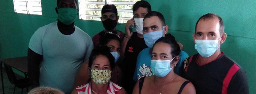 Menores e hipertensos en un centro de aislamiento en Holguín, llevan más de siete días de contacto con un positivo al Covid-19, y aún no les hacen los PCR