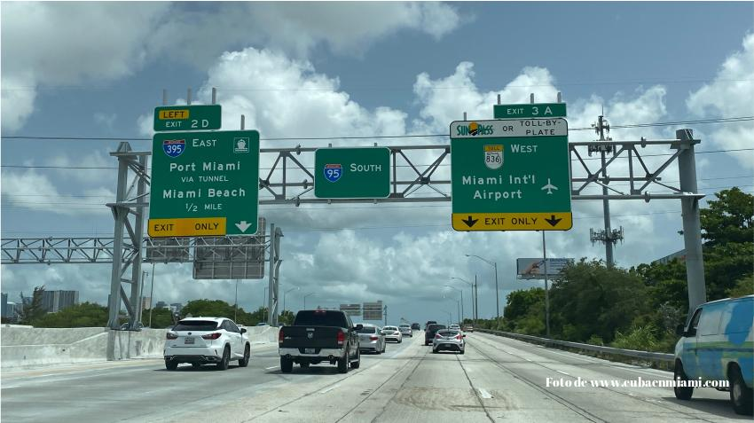 Una mujer embarazada es baleada en su vehículo mientras viajaba por la I-95