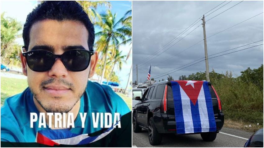 """Joven periodista cubano de Miami reacciona a Patria y Vida: """"Cuba ya no aguanta más"""""""