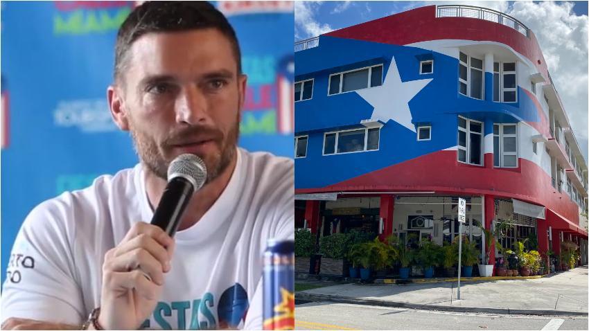 Actor y modelo Julian Gil califica de racista la orden de quitar la bandera de Puerto Rico de su restaurante en Miami