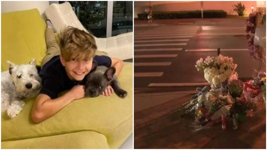 Declaran muerte cerebral de niño atropellado en Miami por conductor que se llevó una roja