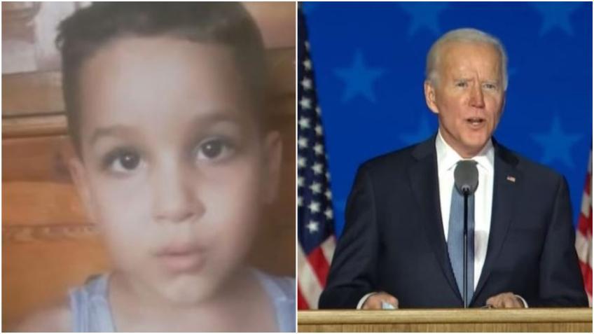 Niño en Cuba pide a Biden por la liberación de su padre detenido en un centro de ICE