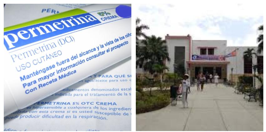 Niño cubano con escabiosis ingresado en el pediátrico de Centro Habana, necesita con urgencia un medicamento en falta