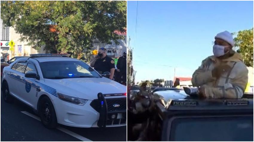 Policía de Miami suspende encuentro callejero con Maluma en Wynwood porque se estaban violando las medidas de Covid-19